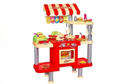 Tejghea fast food cu casa de marcat foto