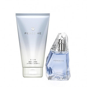 Perceive  Avon parfum 50 ml + lotiune cadou