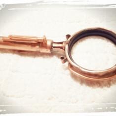 Lupa stil industrial, steampunk, handmade