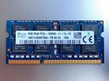 Memorii Laptop SODIMM SKhynix 8GB DDR3 PC3L-12800S 1600Mhz APPLE 1.35V, 8 GB, 1600 mhz, Hynix