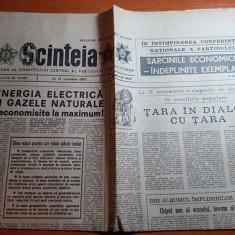 ziarul scanteia 12 noiembrie 1987-articol si foto cu orasul alexandria
