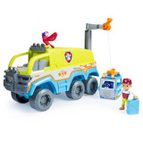 Camion de teren cu sunete si lumini Patrula Catelusilor Jungle Rescue, Patrula Catelusilor