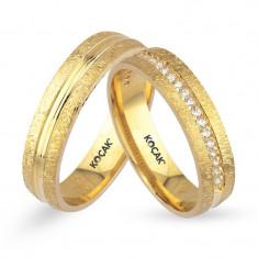Verighete realizate din aur galben UE14-0426