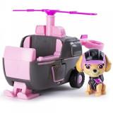 Set de joaca Skye si elicopterul de salvare Mission Paw Patrula Catelusilor