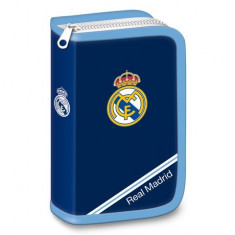 Penar echipat cu parti pliabile FC Real Madrid albastru