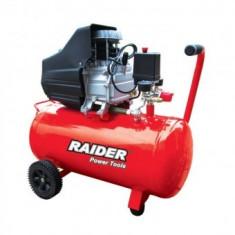 Compresor 50L, 1500W, Raider RD-AC02