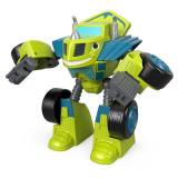 Masinuta transformabila 2 in 1 Zeg Robot Rider Blaze si Masinile Uriase