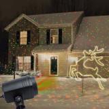Proiector laser tip Star Shower, stelute miscatoare, exterior, IP44
