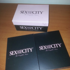Sex and the City-film Dvd box -The Complete series 1-6 HBO limba engleza-18 Cd