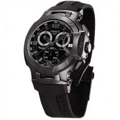Ceas de mana barbatesc Tissot T-Race Chronograph ALL Black