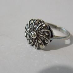 Inel argint cu marcasite -1942