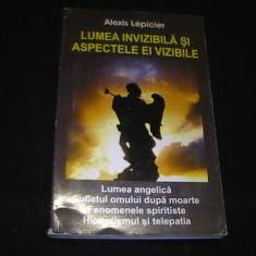 LUMEA INVIZIBILA SI ASPECTELE EI VIZIBILE-ALEXIS LEPICIER-LUMEA ANGELICA-236 PG-
