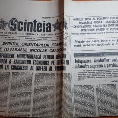 ziarul scanteia 27 august 1989