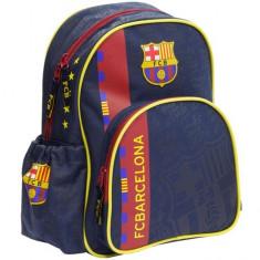 Ghiozdan FC Barcelona cu 2 compartimente 32 cm