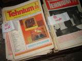 Colectia revistei Tehnium anii 70 complet, anii 80 complet, anii 90 partial