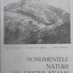 MONUMENTELE NATURII DIN JUDETUL NEAMT - MIHAI CIOBANU, CONSTANTIN GRASU, VASILE