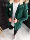 Geaca pentru barbati - VERDE - PREMIUM - model 2018 - A3086 K6-2