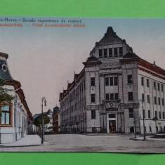 Targu Mures  Marosvasarhely Scoala Superioara de Comert, Necirculata, Printata