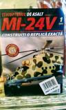 Elicopterul de asalt MI-24V , 1/2018, construiți o replică exactă, 15 lei
