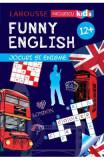 Funny English 12 ani+ Jocuri si enigme (Larousse) - Sandra Lebrun