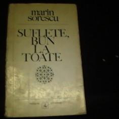 SUFLETE BUIN LA TOATE--MARIN SORESCU--, Alta editura