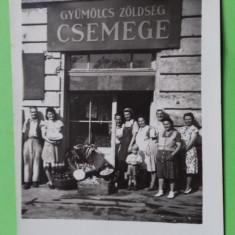 Targu Mures  Marosvasarhely  Magazin legume fructe, Necirculata, Printata