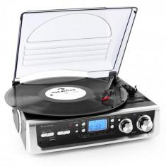 Auna TT-196E gramofon AM / FM RCA USB MP3