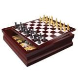 Set 10 jocuri Spin Master in cutie de lemn, Spin Master