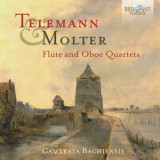 Telemann/Molter - Flute and Oboe Quartets ( 1 CD )