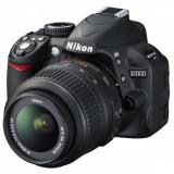 DSLR Nikon D3100, 14.2MP + Obiectiv 18-55mm VR, garantie