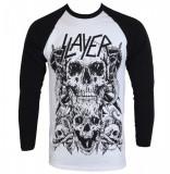 Tricou Slayer - Skulls Raglan, XL