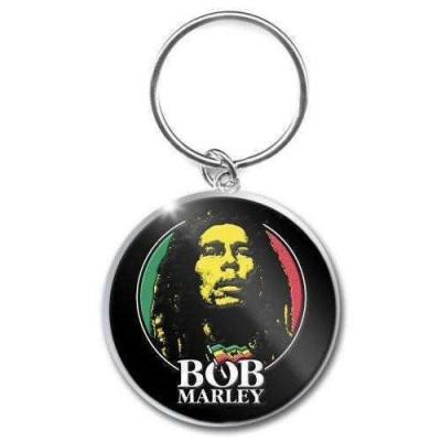 Breloc Bob Marley - Logo Face foto