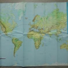 Harta zborurilor TAROM// perioada RPR