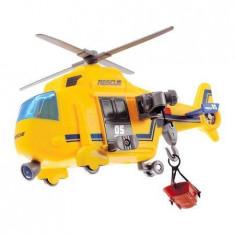 Elicopter de salvare cu sunete si lumini Dickie Toys