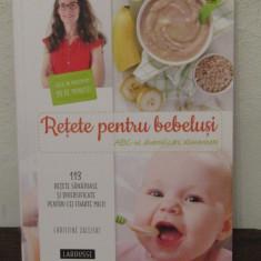 Rețete pentru bebeluși. ABC-ul diversificării alimentare- Christine Zalejski