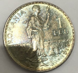 1 leu 1914, 5 g, argint 83.5%,
