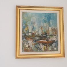 Vand tablou, Marine, Ulei, Impresionism