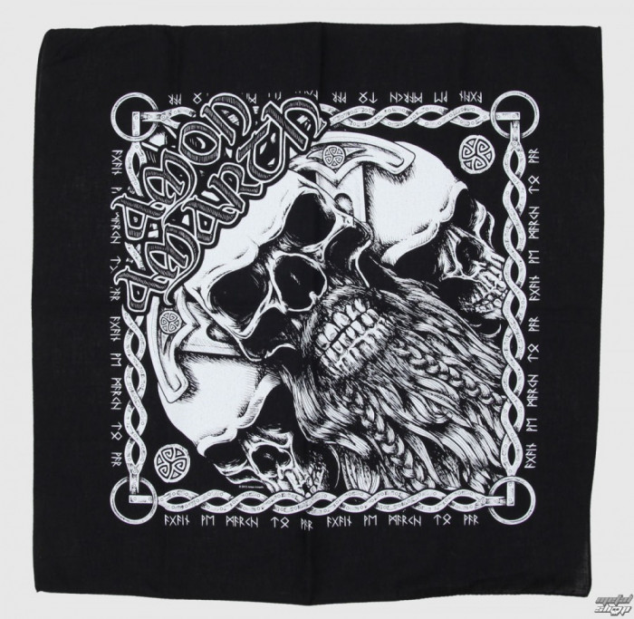 Bandana Amon Amarth - Bearded Skull