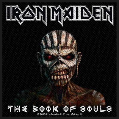 Patch Iron Maiden - Book Of Souls foto