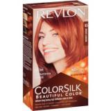 Vopsea de par ColorSilk, 45 Bright Auburn, 100 ml, Revlon