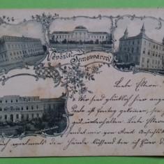 Timis Timisoara Temesvarrol Litografie