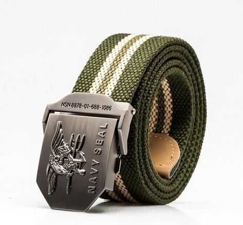 Curea CPB40 Material Textil Navy Seal Pure Green