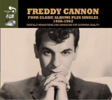 Freddy Cannon - 4 Classic Albums Plus.. ( 4 CD )