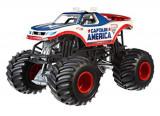 Masinuta Hot Wheels Monster Jam 25th Anniversary Captain America