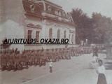 FOTOGRAFIE ,TRUPELE ROMANE WW1 / ROMANIA, POSIBIL BUCURESTI