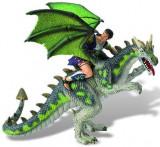 Figurina - Luptator pe dragon verde, Bullyland