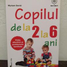 Copilul de la 2 la 6 ani -Myriam David