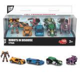 Set 5 masinute robot Transformers, Metal