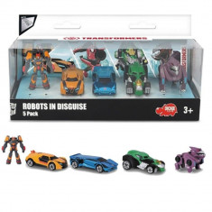 Set 5 masinute robot Transformers, Metal