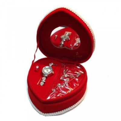 Set cadou bijuterii Inima foto